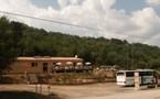 Notre établissement au col de Cricheto.